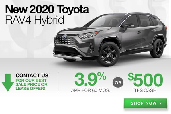 New 2020 Toyota RAV4 Hybrid