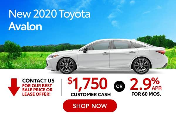 New 2020 Toyota Avalon
