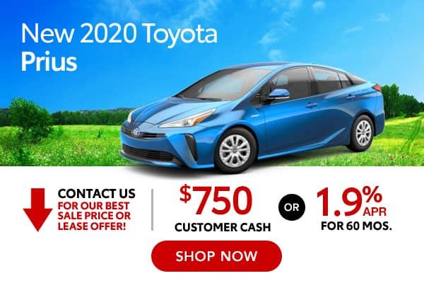 New 2020 Toyota Prius