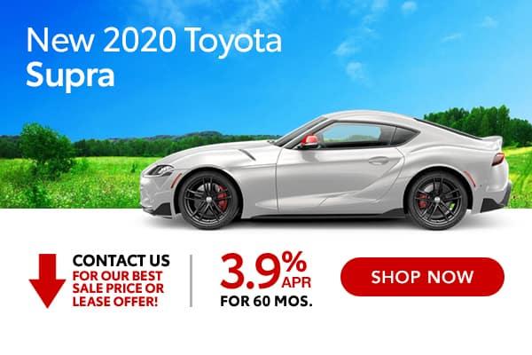 New 2020 Toyota Supra