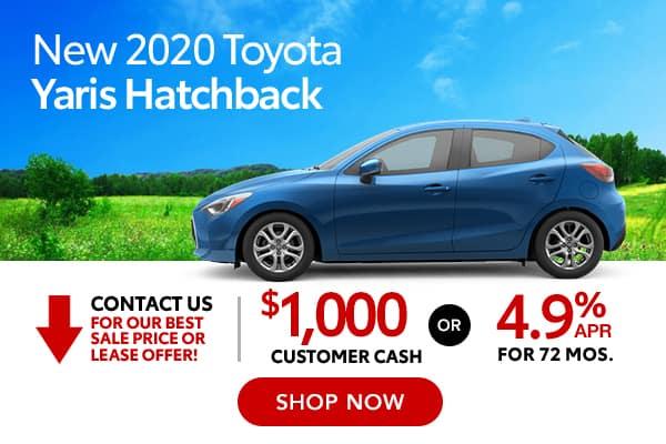 New 2020 Toyota Yaris Hatchback