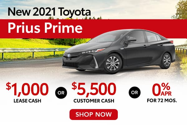 New 2021 Toyota Prius Prime