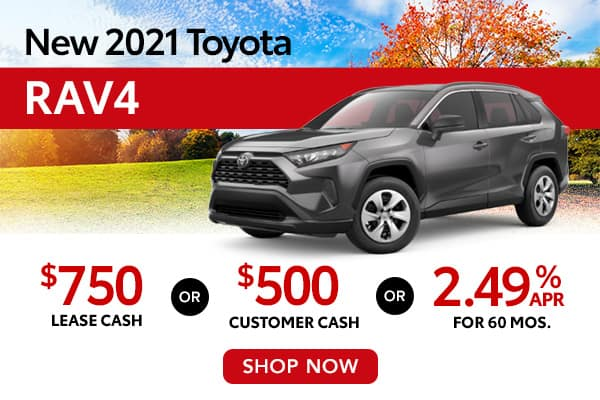 New 2021 Toyota RAV4