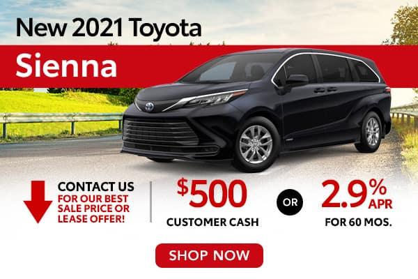 New 2021 Toyota Sienna