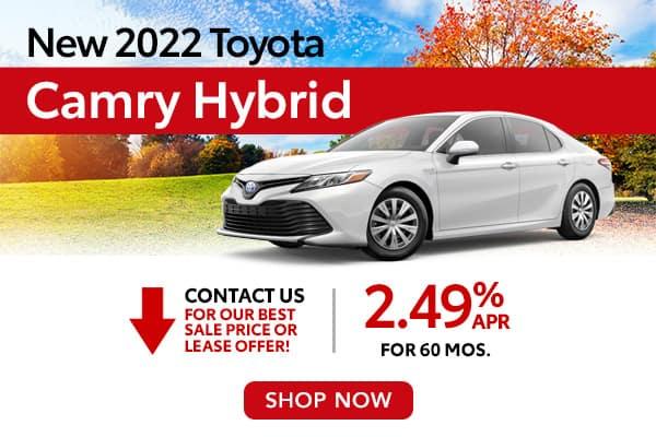 New 2022 Toyota Camry Hybrid