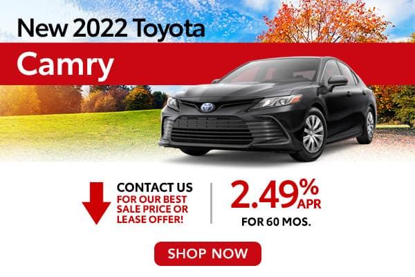 New 2022 Toyota Camry