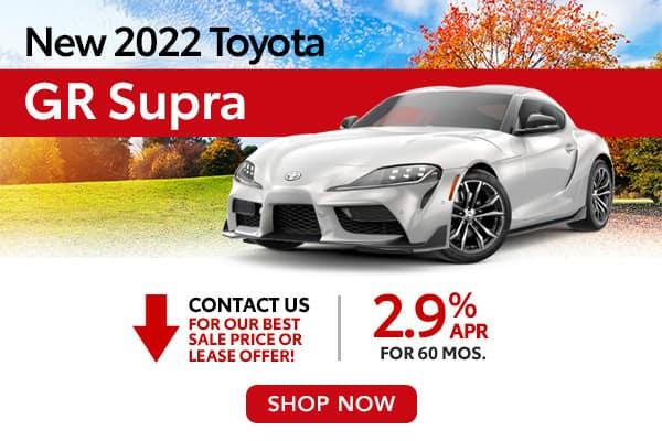 New 2022 Toyota GR Supra