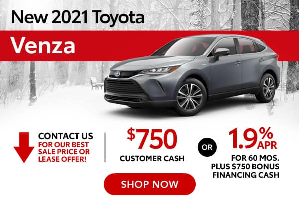 New 2021 Toyota Venza