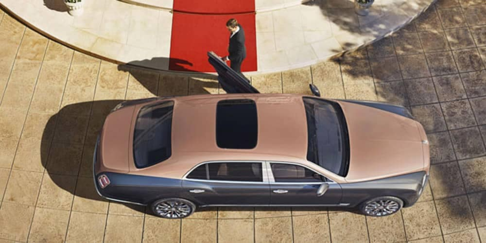Bentley Mulsanne Extended Wheelbase with Sunroof