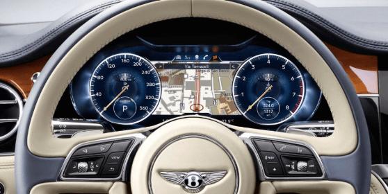 2019 Bentley Continental Interior