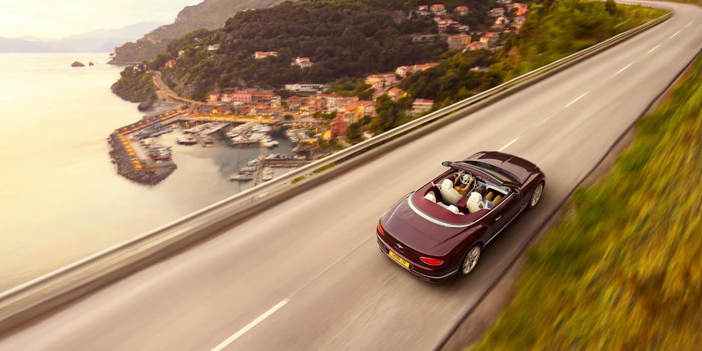 2021 Bentley Continental driving