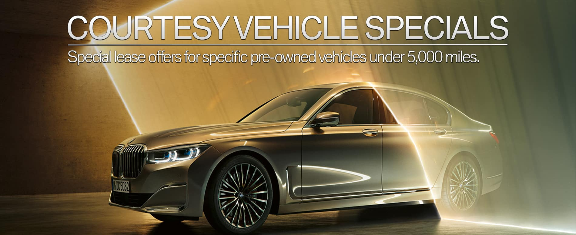 BMW Service Loaner Lease Specials and Offers - Darien, CT