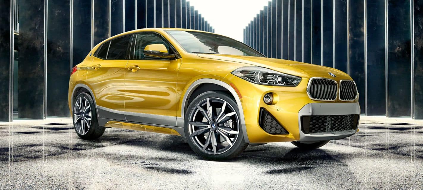 Side photo of the 2019 BMW X2.