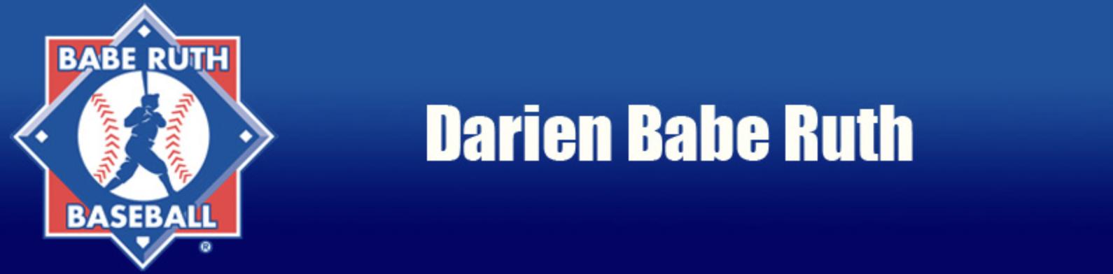 Darien Babe Ruth Baseball Logo