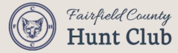 Fairfield County Hunt Club Logo