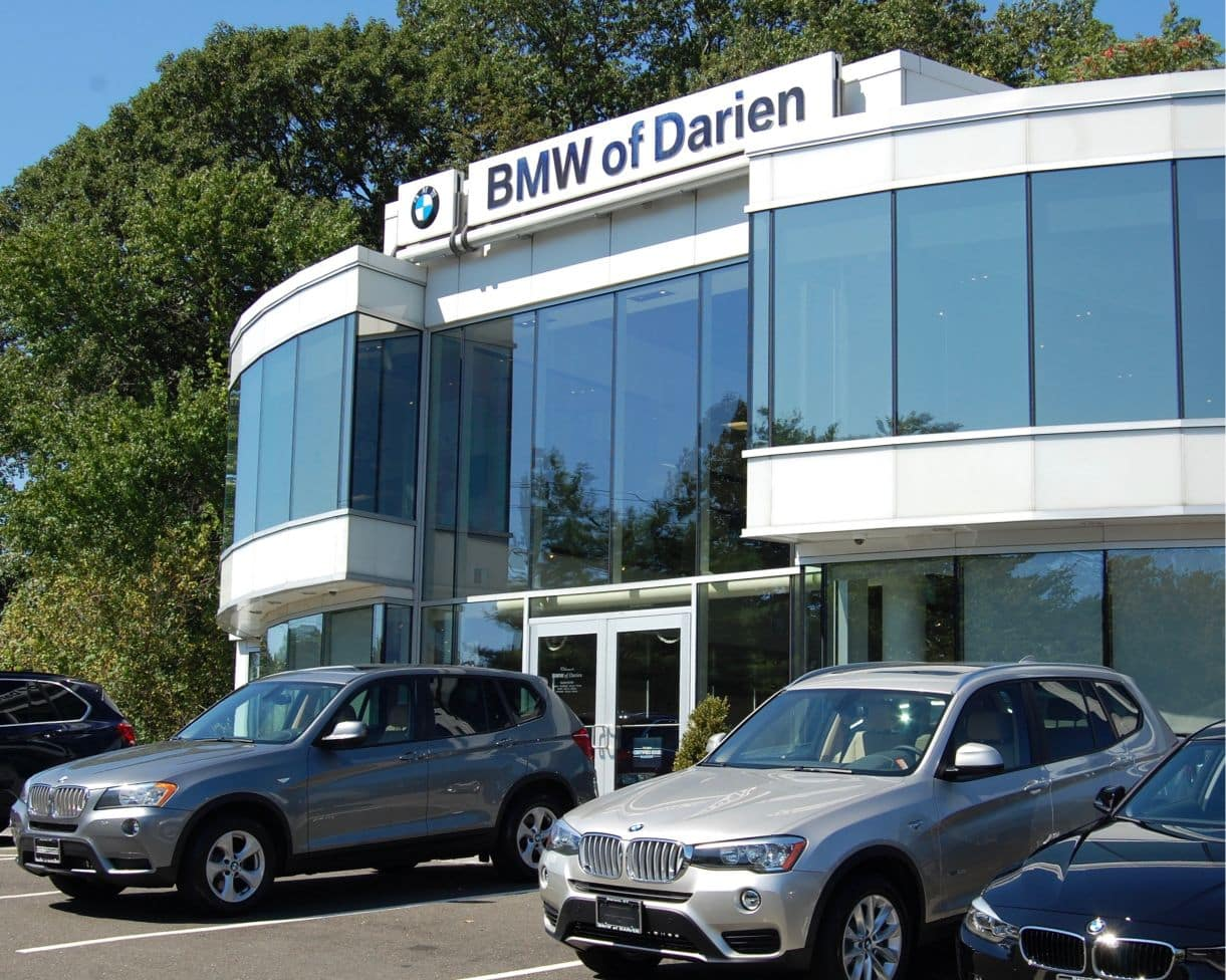 BMW of Darien Front Dealership Photo