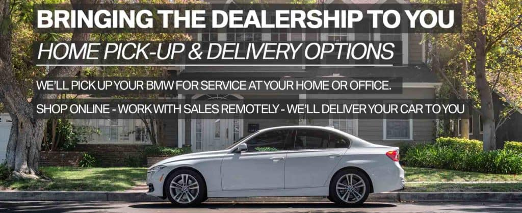 BMW Home Pick-Up & Delivery in Connecticut | BMW of Darien