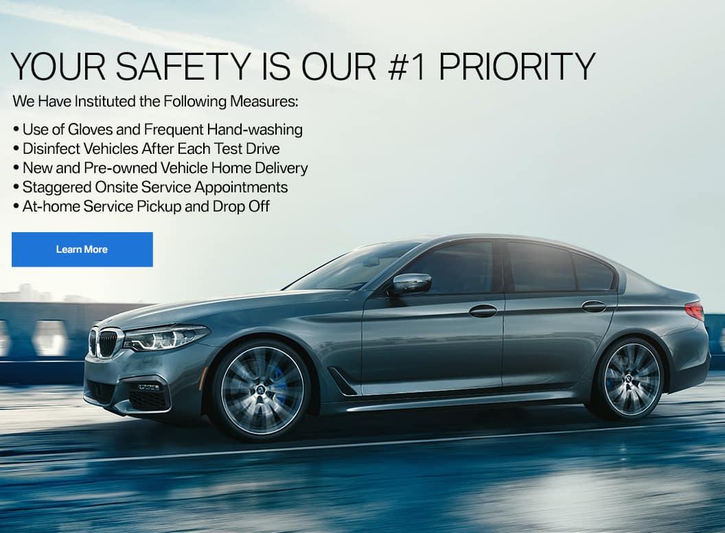 BMW service safety
