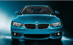 Blue Front-End of BMW 4 Series
