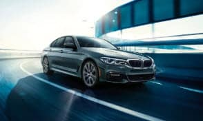 Gray BMW 5 Series Manhattan NY