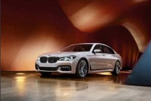 White BMW 7 Series Manhattan NY