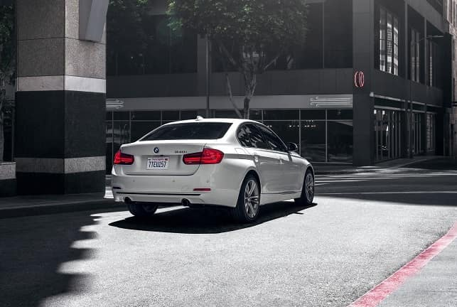 Back End of BMW 3 Series Manhattan NY