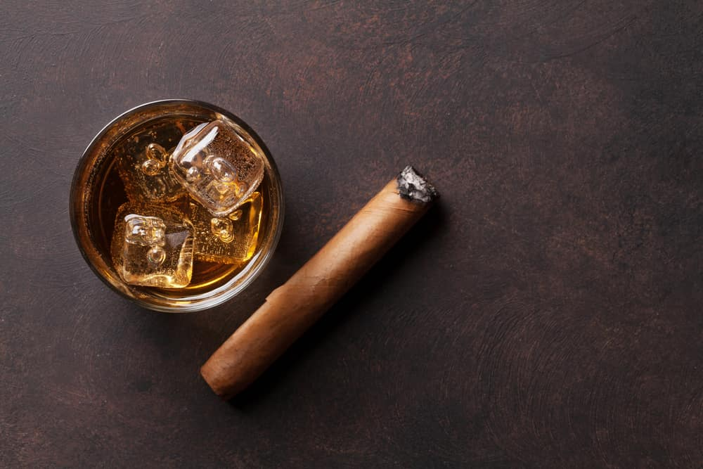 Cigar with Whiskey near New York City
