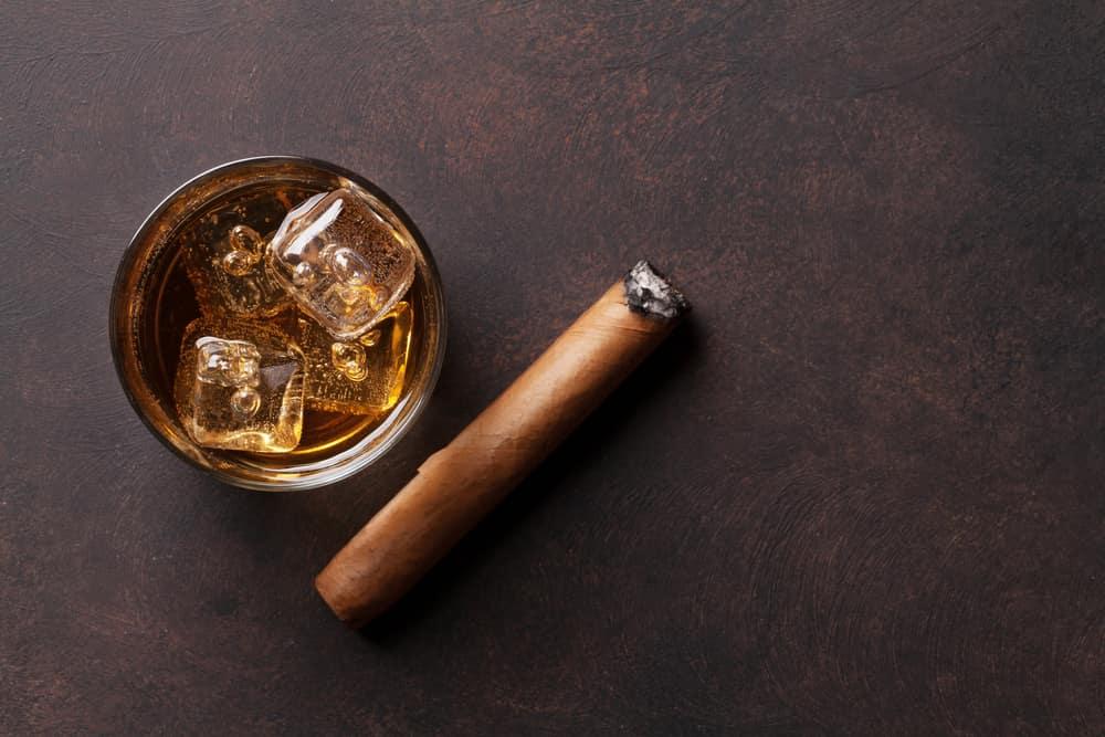 Cigar with Whiskey near New York City