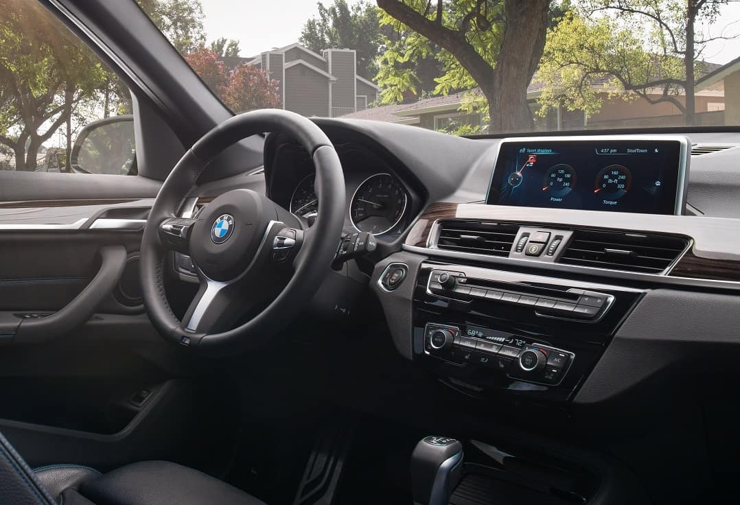 2019 BMW X1 Infotainment Screen