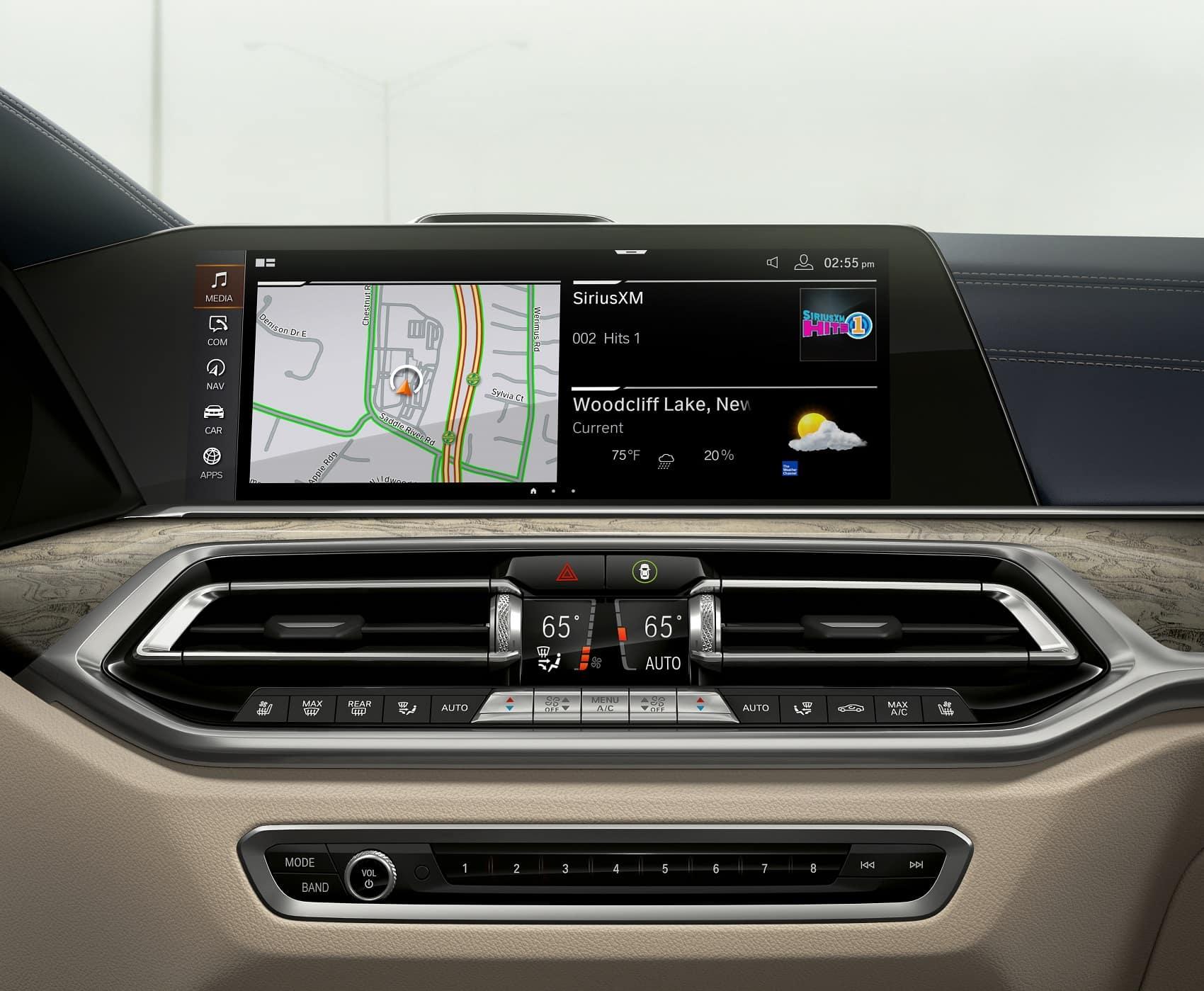 2019 BMW X7 Interior Infotainment System