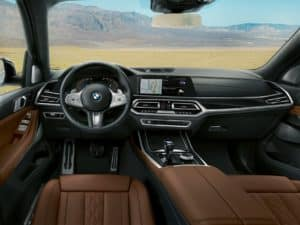 2019 BMW X7 Interior Comfort and Space