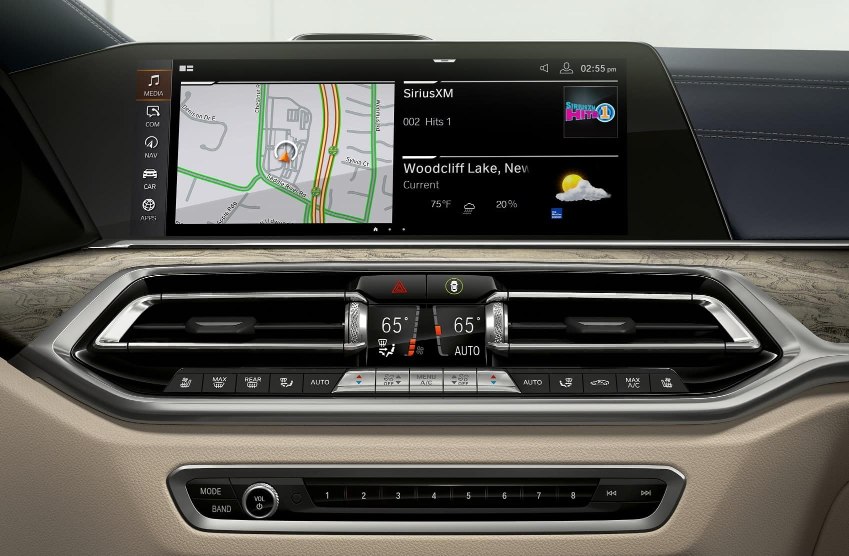 BMW X7 Safety
