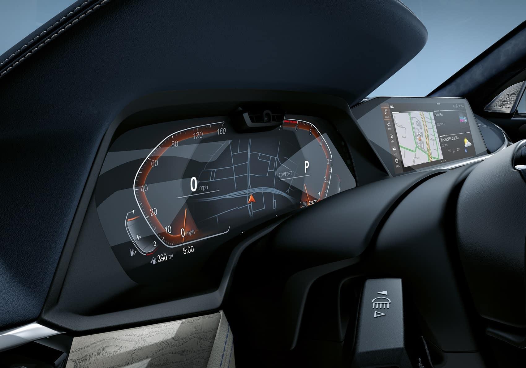 BMW X7 Interior Dashboard Technology