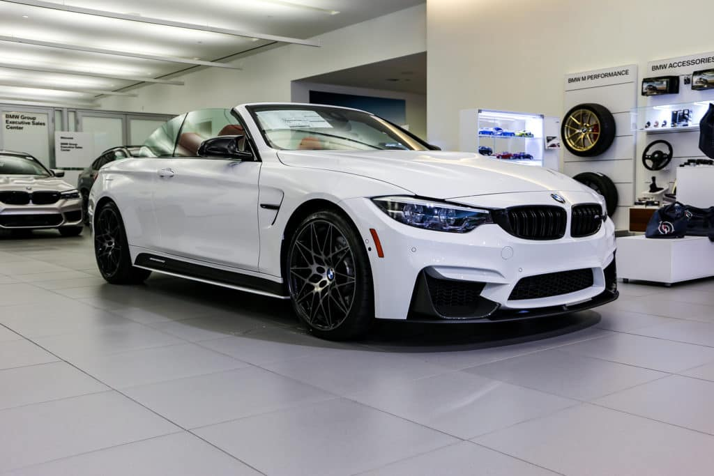 New 2020 BMW M4 Convertible RWD Convertible