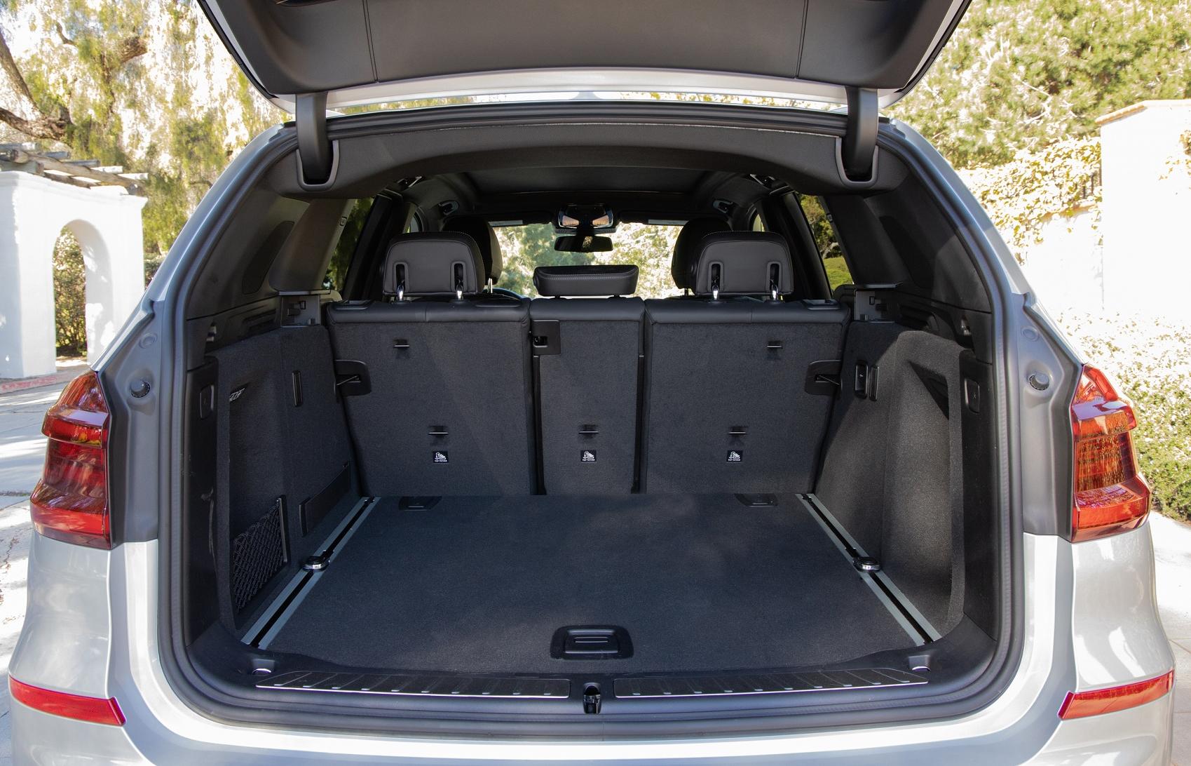 BMW X3 Interior Cargo Area