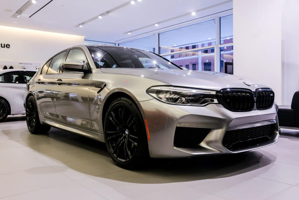New 2019 BMW M5 Sedan AWD 4dr Car