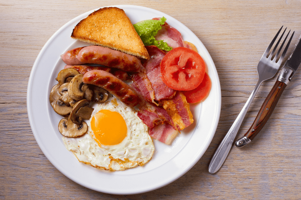 Classic Irish breakfast