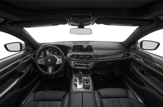 BMW 750i Interior