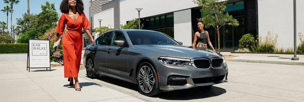 2020 BMW M5 Parked