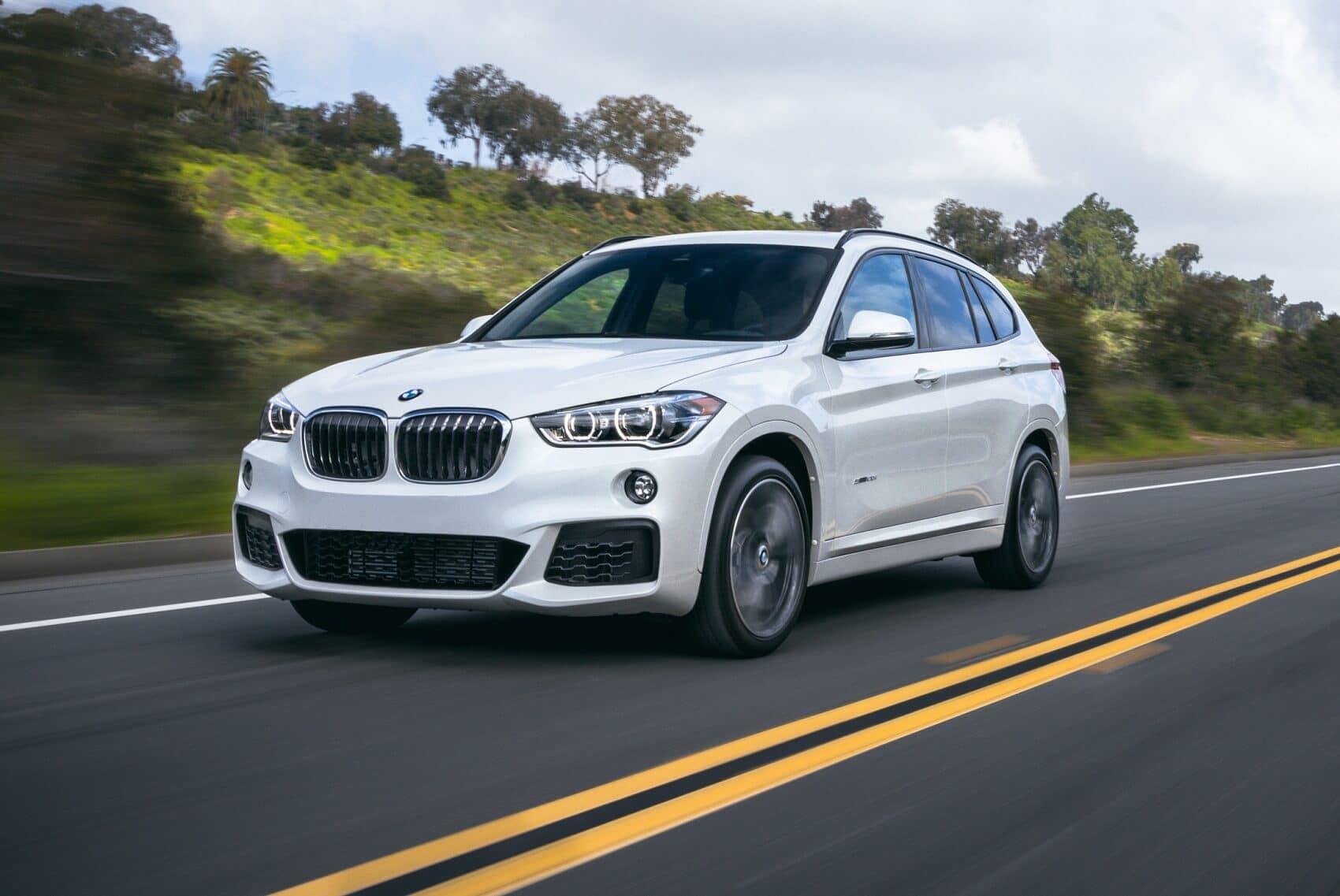 BMW X1 Driving