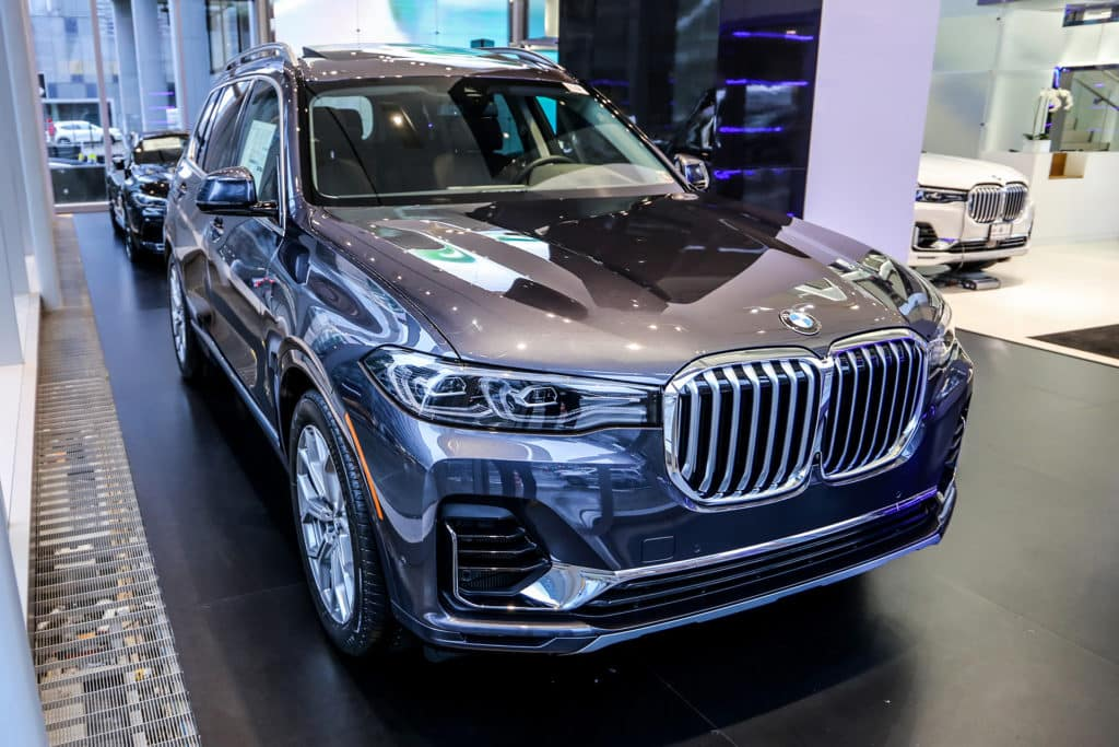 New 2020 BMW X7 xDrive40i AWD Sport Utility