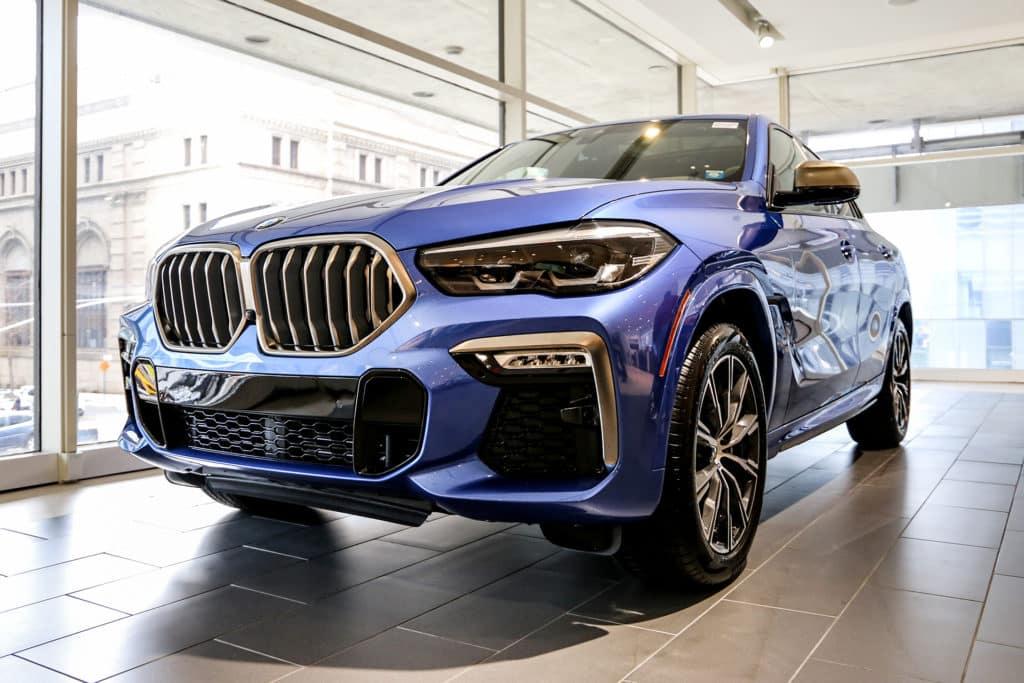 New 2020 BMW X6 M50i AWD Sport Utility
