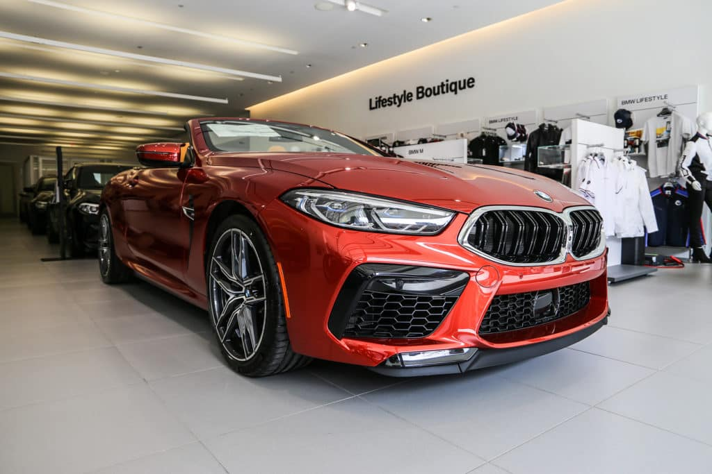 New 2020 BMW M8 Convertible AWD Convertible