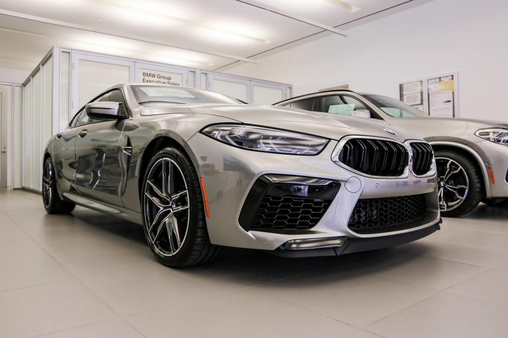 New 2020 BMW M8 Gran Coupe AWD 4dr Car