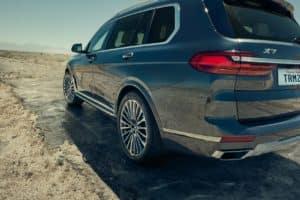 BMW X7 vs Mercedes GLS Manhattan NY