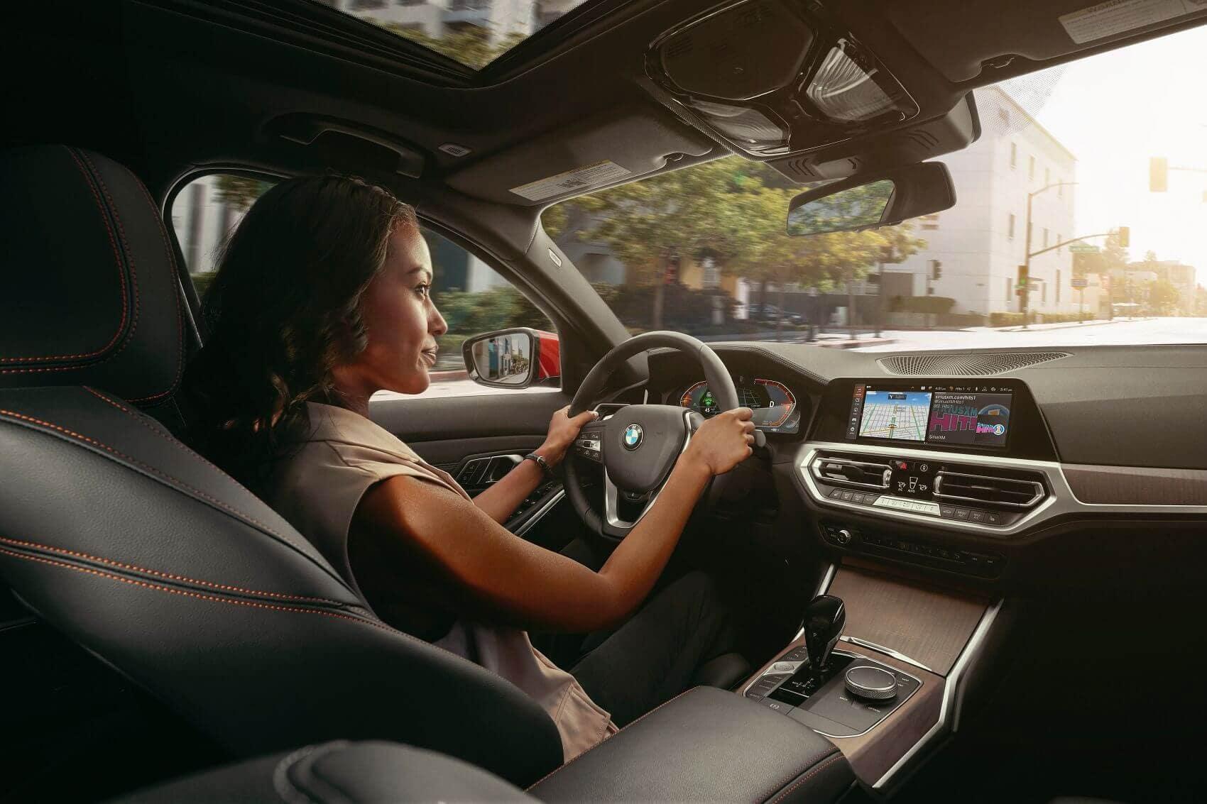 BMW M3 Interior Technology Manhattan NY