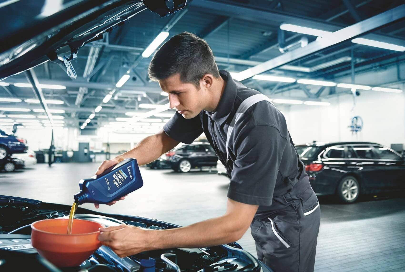 BMW Vehicle Service Center