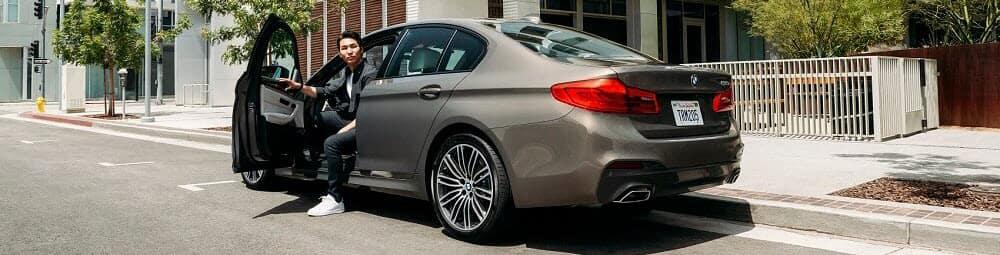 BMW M5 Parked