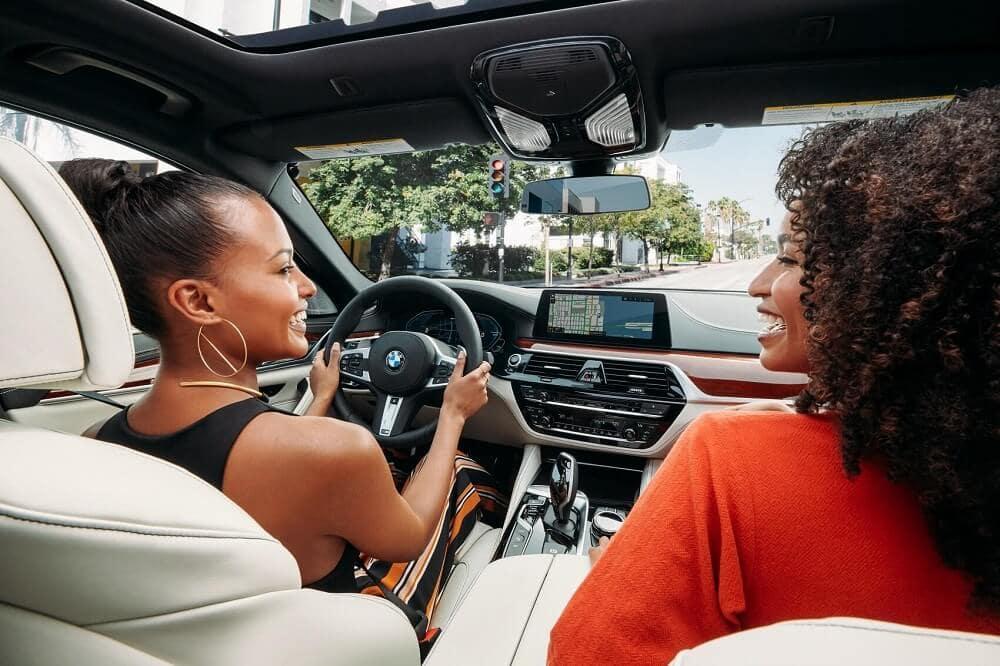 Driving a BMW M5