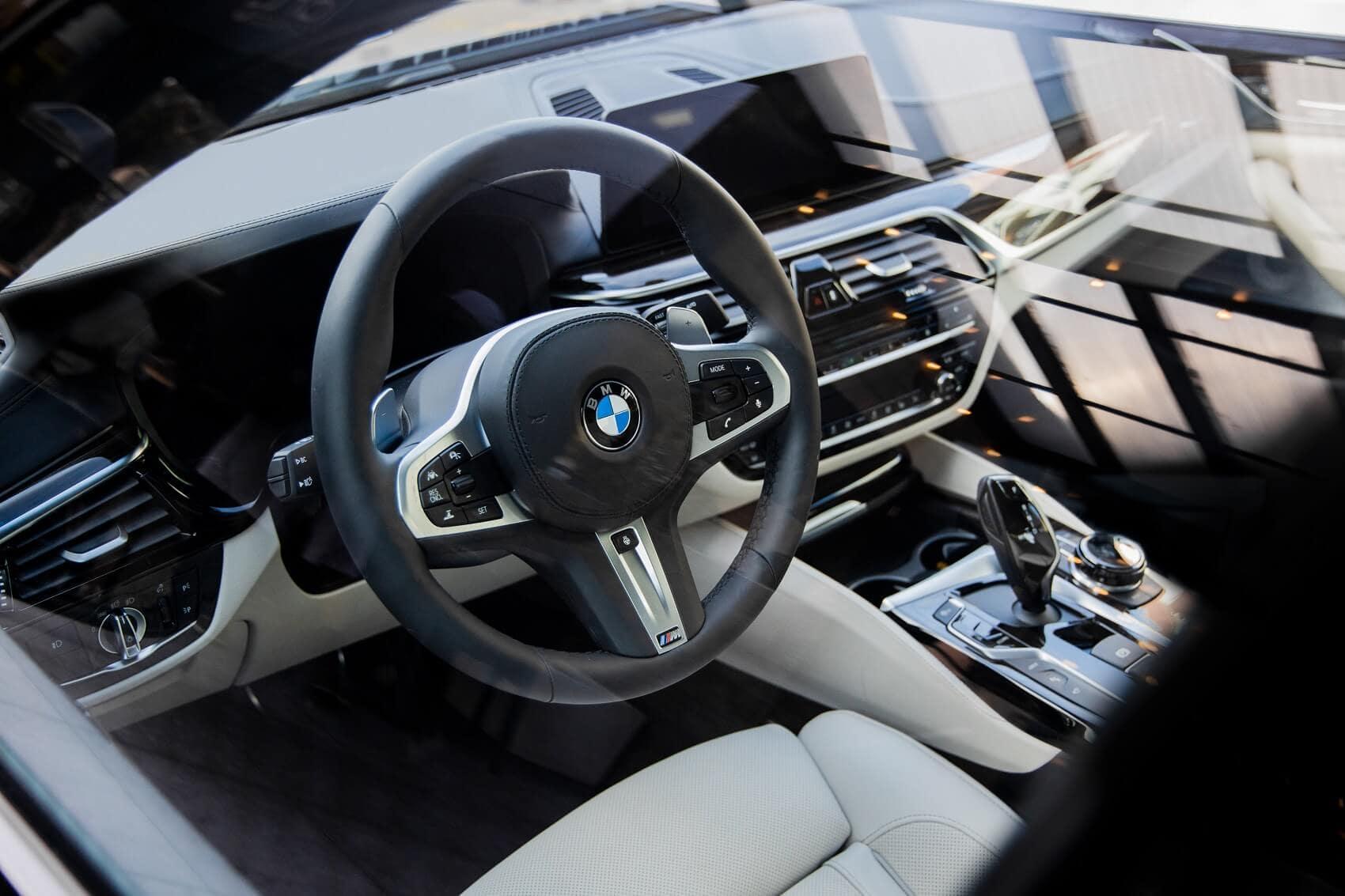 2020 BMW M5 Interior Manhattan NY